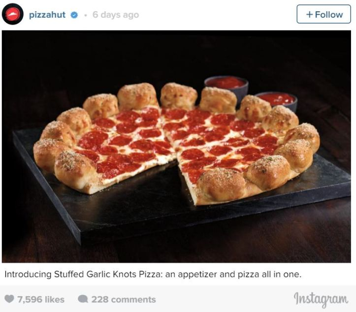 Garlic Knot Pizza
